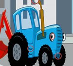 Blue Tractors Differences