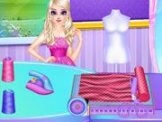 Princess Elsa's Tailor Shop