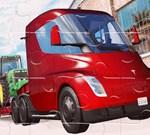 Tesla Trucks Jigsaw