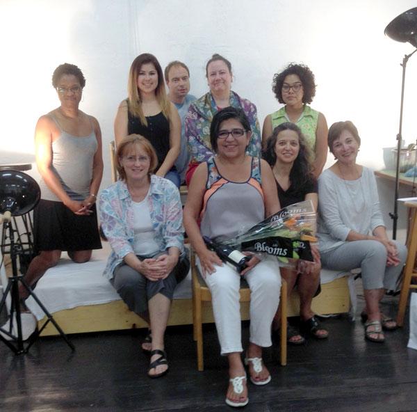 Emerging Artist Workshop – July 2014