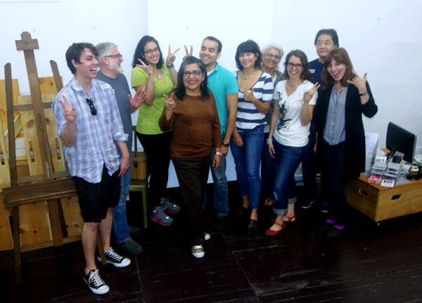 Individual Artist Workshop  – October 2014