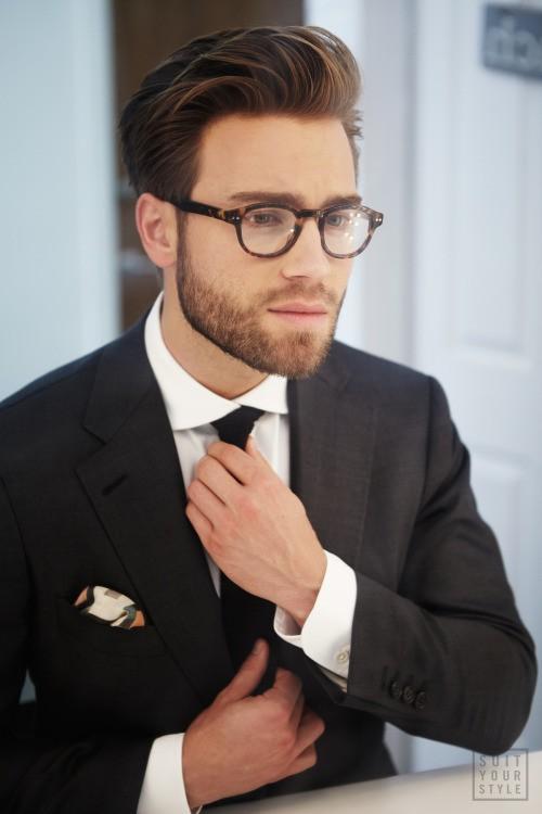 El estilo de barba modesto