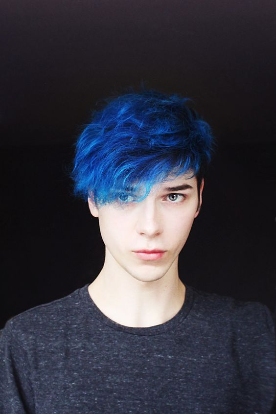 Best 10 Guys With Blue Hair Ideas How To Dye And