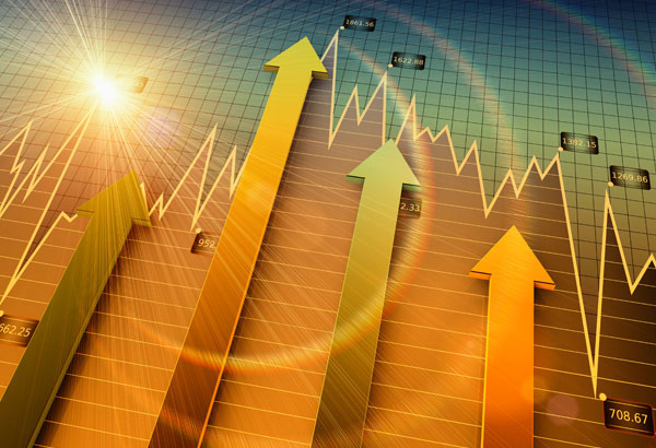 Growth in the financial trading sector
