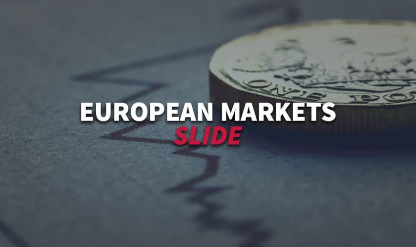 European markets overview - Stock indexes slide