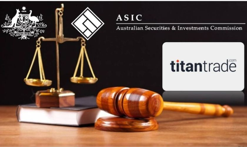 Reasons behind Titantrade ASIC Blacklisting