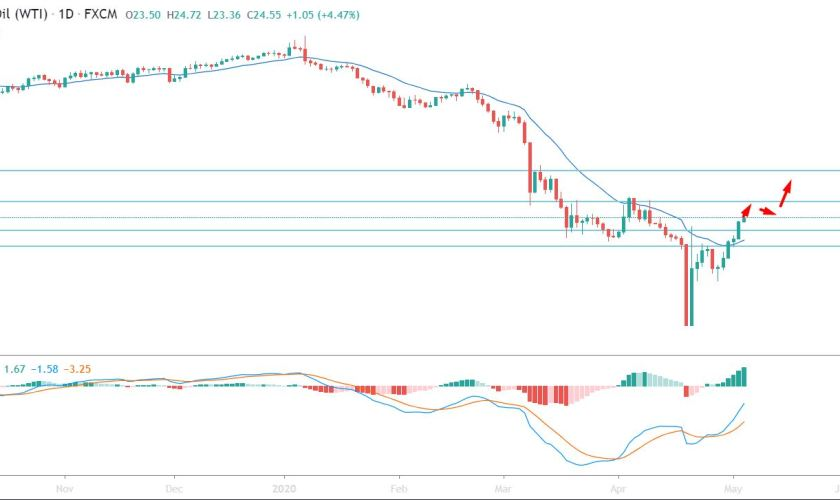 Oil Bulls Had a Daily Close Above $21.50 per Barrel- Can It Reach $28?