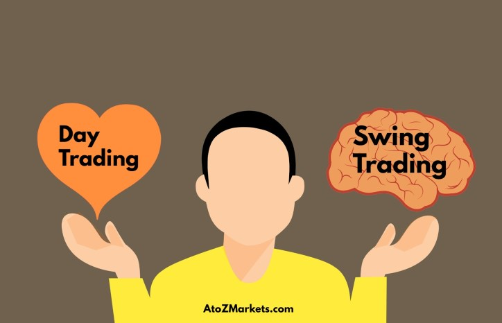 Day trading vs swing trading - Difference