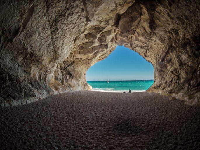 beach cave coast