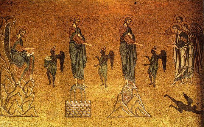temptation of Christ in the desert bsf matthew www.atozmomm.com
