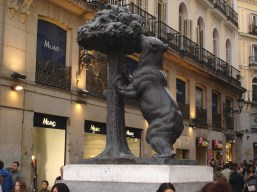 The bear and strawberry tree are the symbols of Madrid