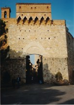The town gate