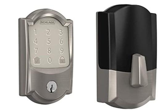 Schlage BE489WB CAM 619 Encode Deadbolt Smart Door Lock for bedroom