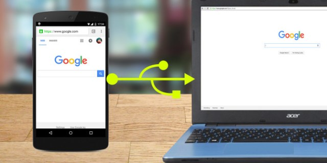 Connect Internet to Pc VIa Android Phone