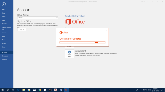 Microsoft Office 2019 Download And Install Office 2019 Preview 16.0.10228.20062 4