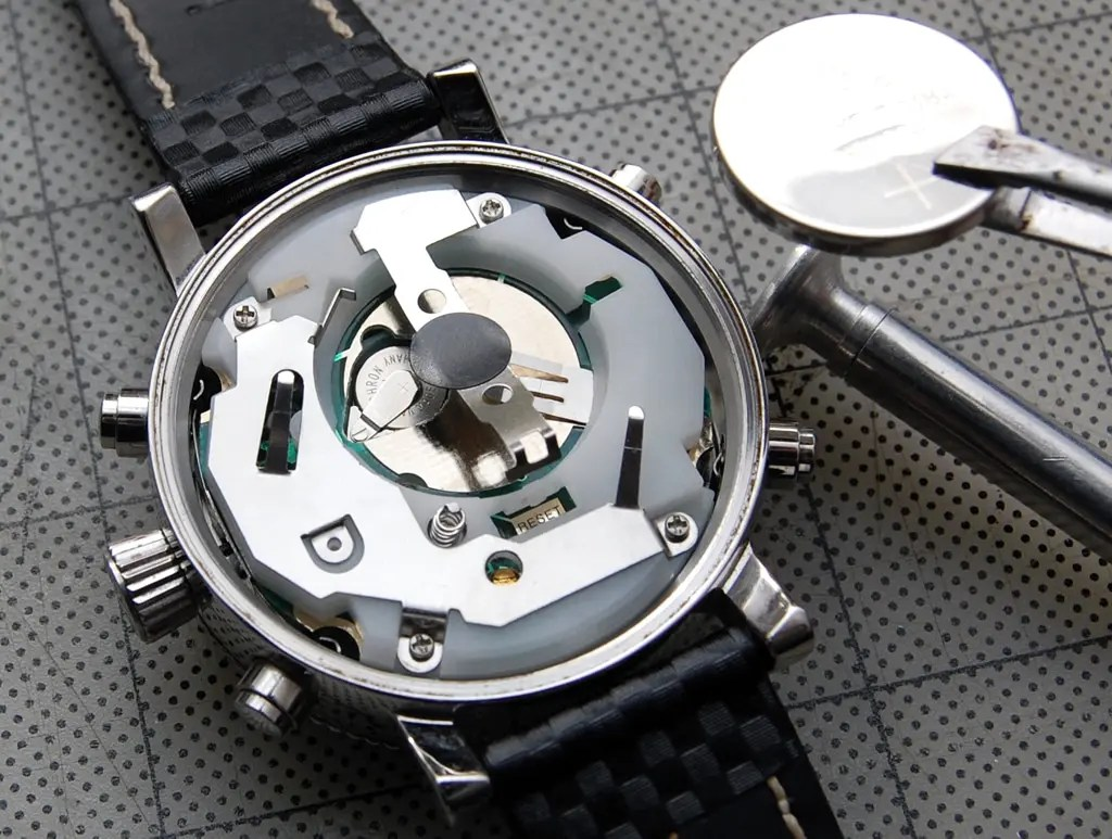 Watch Repair and Replacement Battery
