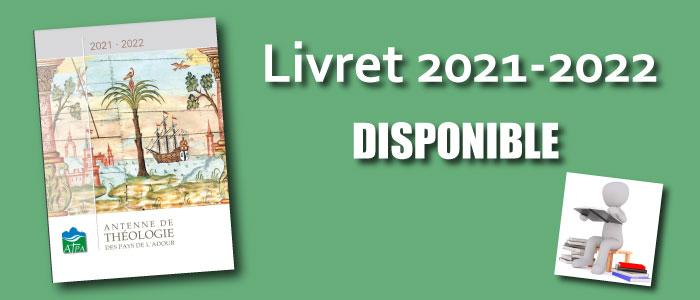 Livret 2021-2022 disponible !