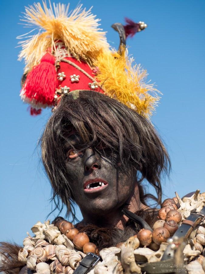 Kuker masked as a devil - Olympus M.ZUIKO 25mm f/1.2 PRO @ f2.0, 1/2500 ISO 200
