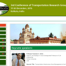 Transportation Research Group (TRG) Conference, Lucknow India