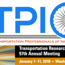 ATPIO's 2018 Annual Meeting to be Held at TRB on Jan 7