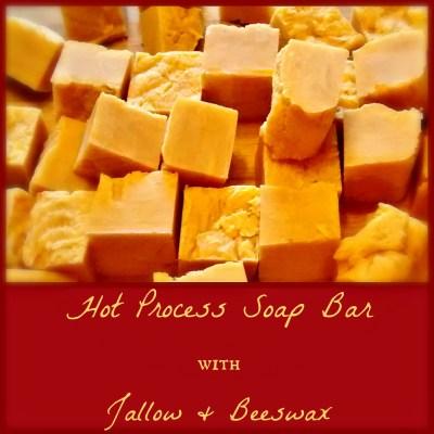 Beeswax & Tallow Soap Bar