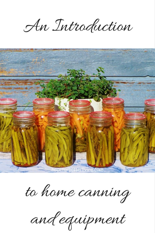 Interested in home canning? Come learn about the basics!