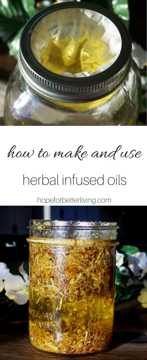 Return to traditional methods for your DIY skincare products by learning how to make herbal infused oils at home!