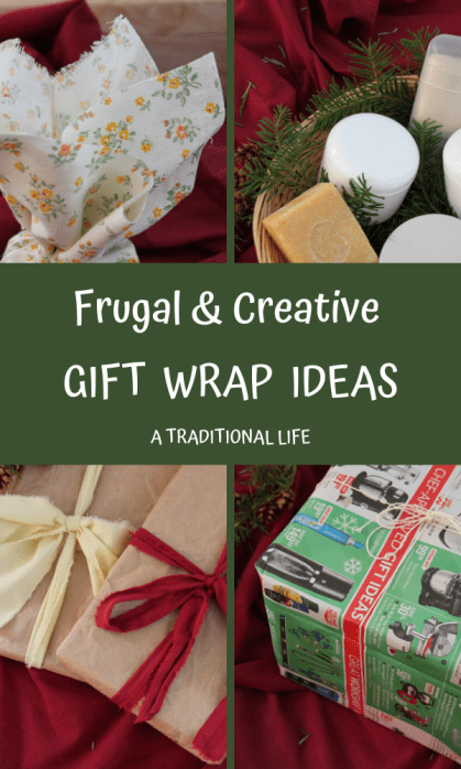 Give uniquely wrapped gifts to the person you love!