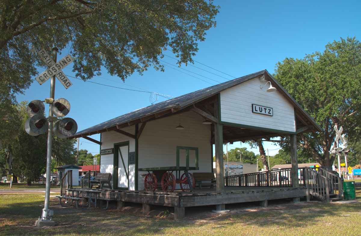 Historic Lutz, FL, Train Station – and new subscription method!