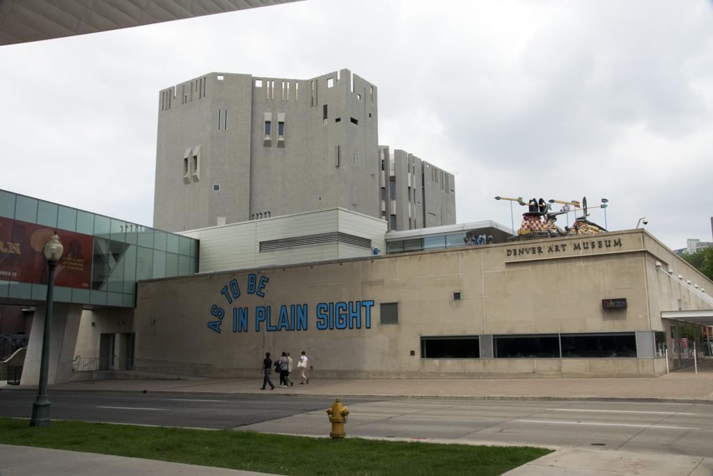 Denver Art Museum, Colorado, and The Western Exhibit