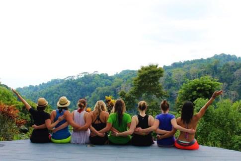 Wanderful members in Costa Rica