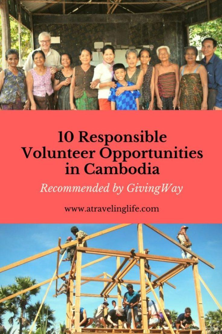 10 Responsible Volunteer Opportunities in Cambodia