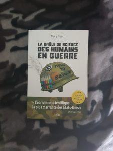 Lu – La drôle de science des humains en guerre – Mary Roach (Belin)