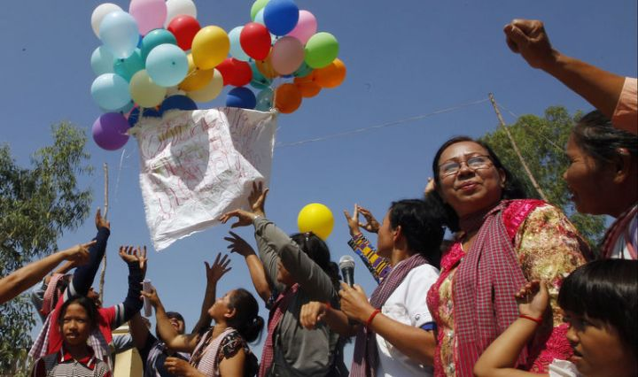 International Women´s Day Phnom Penh