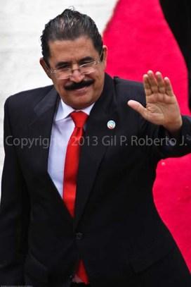 PRESIDENTE DE HONDURAS JOSE MANUEL ZELAYA ROSALES