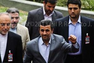 PRESIDENTE DE LA REPUBLICA ISLAMICA DE IRAN MAHMUD AHMADINEYAD
