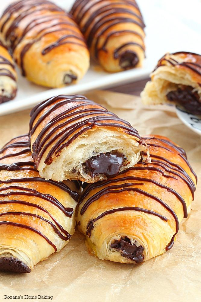 Image result for filled croissant