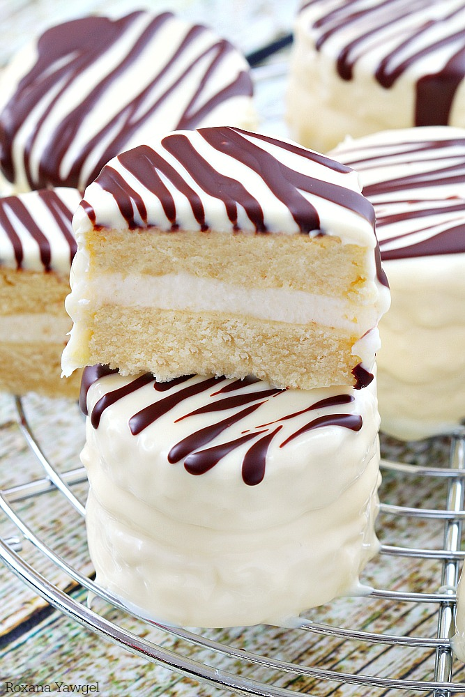 Zebra Cake Recipe Dishmaps