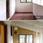 Sunroom East - Before and After
