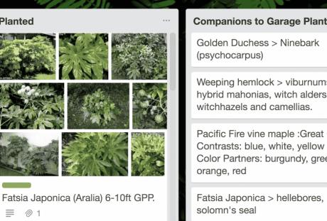 A New Garden Planning Tool