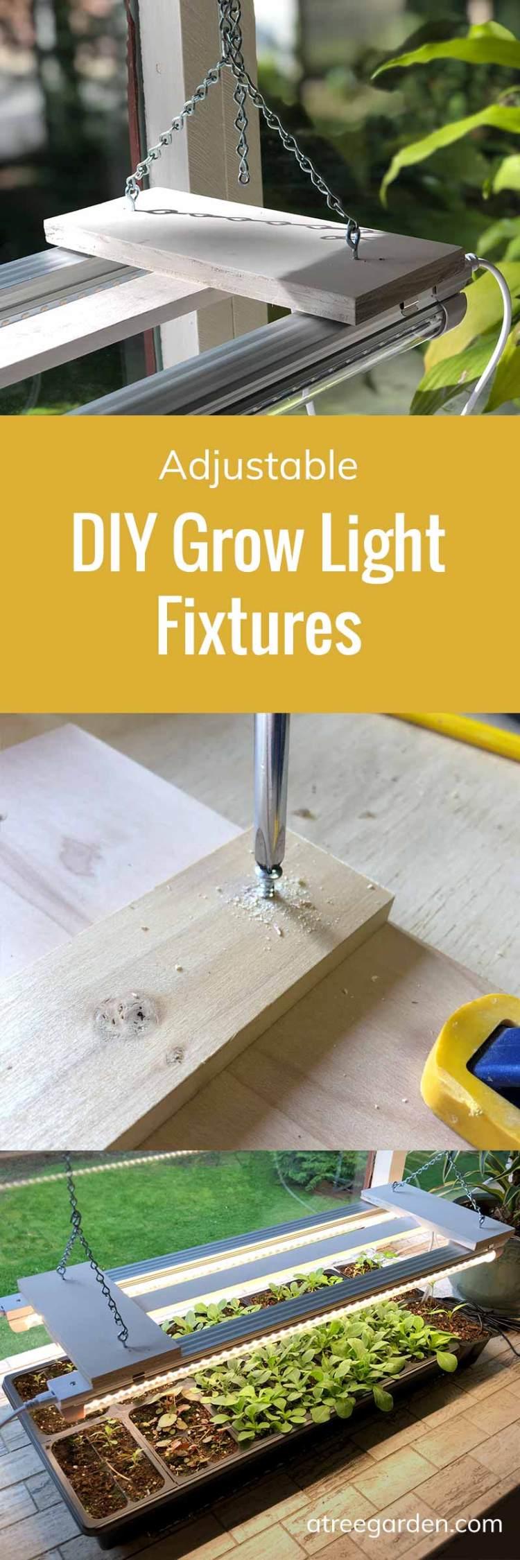 Adjustable Grow Light Fixtures