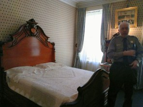 TR was born in this room.