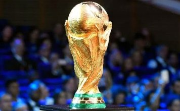 Football World Cup Trophy