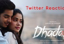 Dhadak Twitter Reaction