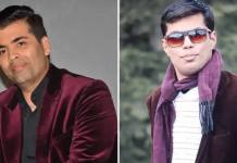 Karan Johar and his look a like