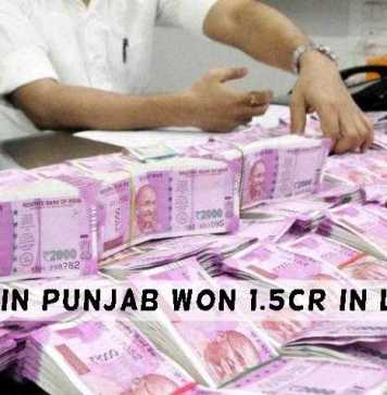 A Punjab Labour Who Borrowed Money To Buy Lottery Ticket Won 1.5 Crore