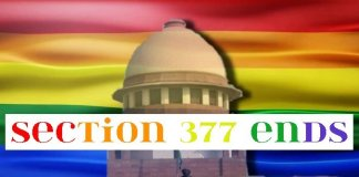 Section 377 Ends