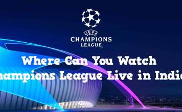 Champions League Live in India