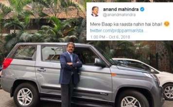 Anand Mahindra Reply To A Twitter User Made Him Delete His Tweet.