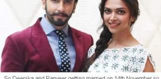 Deepika And Ranveer Marriage